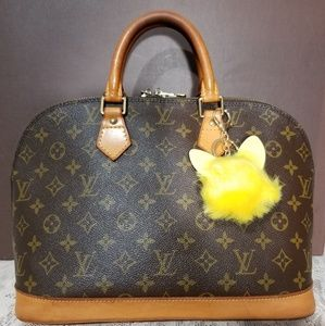 Authentic Alma Monogram PM